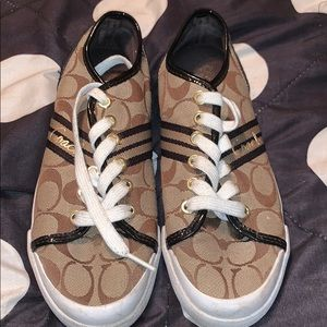 COACH Sneakers; worn twice.